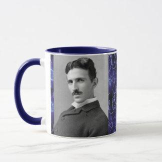 Taza de café del inventor de Nikola Tesla