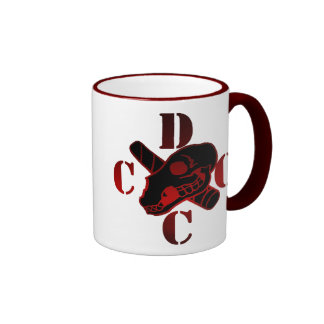 Taza de café del logotipo de DCCC