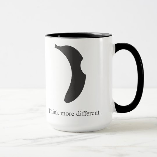 taza de café del logotipo del plátano