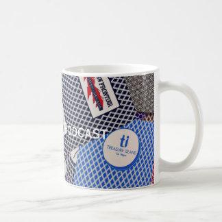 Taza de café del logotipo del río