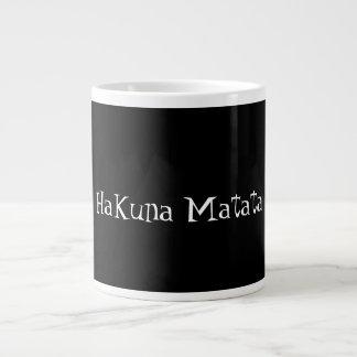 Taza de café del matata de rey Hakuna del león