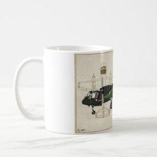 Taza de café del Mohawk de OV-1D