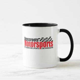 Taza de café del Motorsports de los pueblos