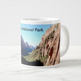 Taza de café del parque nacional de Zion