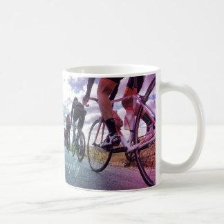 Taza de café del paseo de Fikeshot sábado