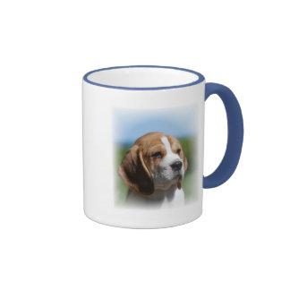 Taza de café del perrito del beagle