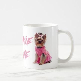 Taza de café del perro de perrito de Yorkie