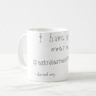 Taza de café del pío de Gerard Way