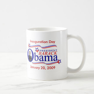 Taza de café del recuerdo de la inauguración de