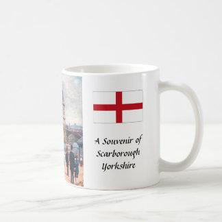 Taza de café del recuerdo - Scarborough, Yorkshire