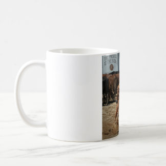 taza de café del rodeo