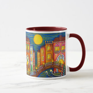 Taza de café del Soiree de Venecia de Lisa Lorenz