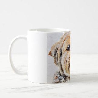 Taza de café del terrier de Yorkshire