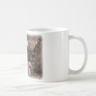 Taza de café del tractor