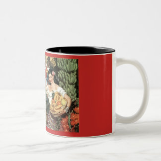 Taza de café del vintage de México