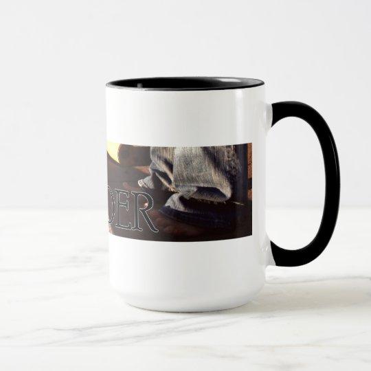 Taza de café del Yoga-Autor