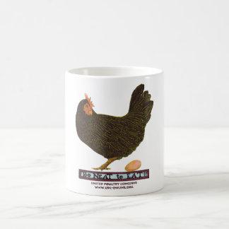 Taza De Café ¡Demasiado aseado comer! - Gallina