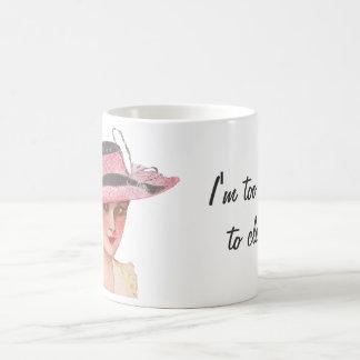 Taza De Café Demasiado bonito limpiar