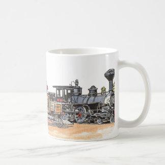 Taza De Café Depósito del oeste viejo del ferrocarril
