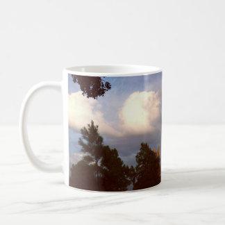Taza De Café derivas en las nubes
