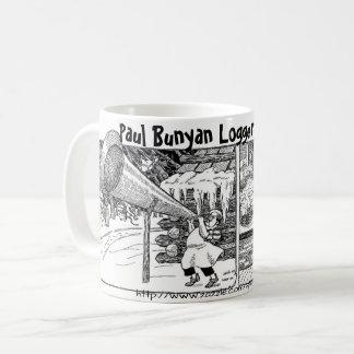 """Taza De Café """"Desayuno del maderero, estilo de Paul Bunyan """""""