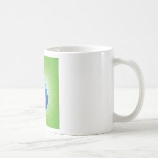 Taza De Café descenso del agua