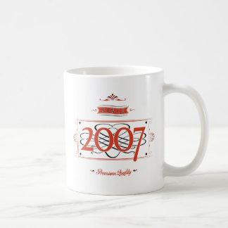 Taza De Café Desde 2007 (Red&Black)
