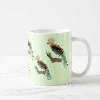 Taza De Café Desfile del pájaro