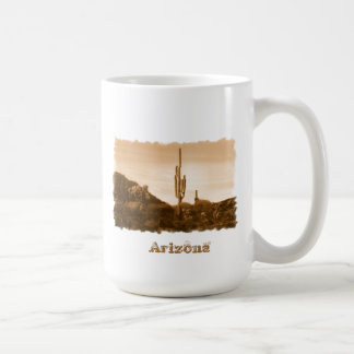Taza De Café desierto en la sepia, Arizona
