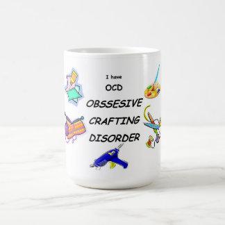 Taza De Café Desorden que hace a mano obsesivo