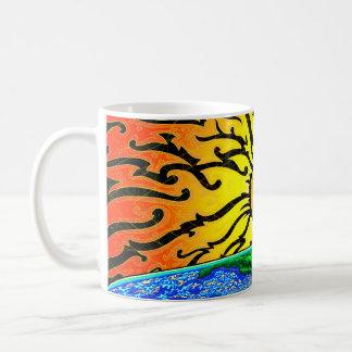 Taza de café despierta