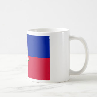 Taza De Café d'Haïti de Drapeau - bandera de Haití