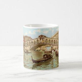 Taza De Café Di Rialto, Venezia de Ponte de ponte de la postal