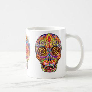Taza De Café Dia de los Muertos/día de los muertos