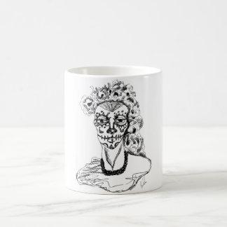 Taza De Café Dia de los Muertos - Mónica