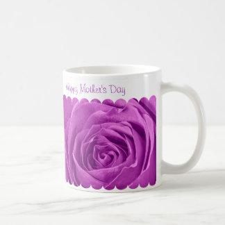 Taza De Café Día de madres feliz - centro subió orquídea