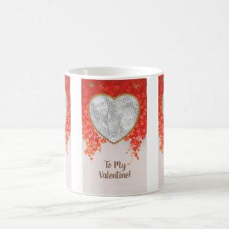 Taza De Café Día de San Valentín del Victorian del vintage mi
