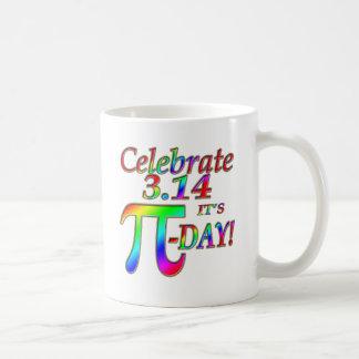Taza De Café Día del pi