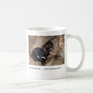 Taza De Café Diablo tasmano