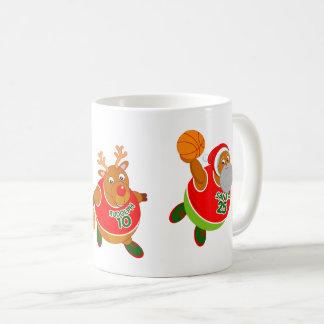 Taza De Café Dibujo animado de la diversión de Santa y de