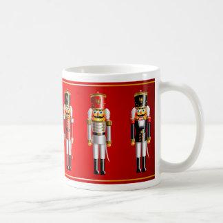 Taza De Café Dibujo animado del ejército de los cascanueces de