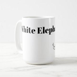 Taza De Café Dibujo animado del intercambio del elefante blanco