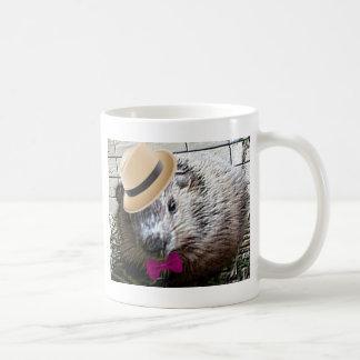 Taza De Café ¡Dibujo animado lindo de la marmota!