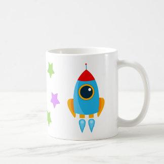 Taza De Café Dibujo animado Rocket