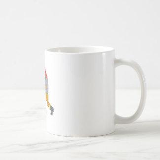 Taza De Café Dibujo del hacha del fuego de Pike poste del