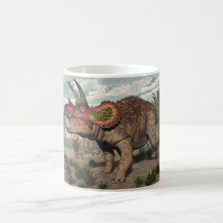 Taza De Café Dinosaurio del Triceratops - 3D rinden