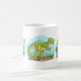 Taza De Café dinosaurios