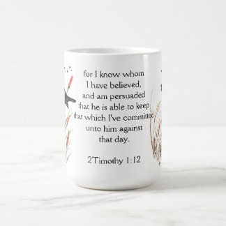 Taza De Café Dios de la escritura de la biblia del 65:5 del