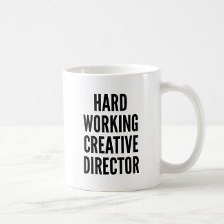 Taza De Café Director creativo de trabajo duro
