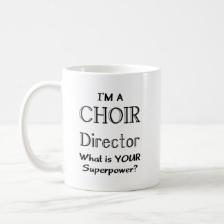 Taza De Café Director del coro
